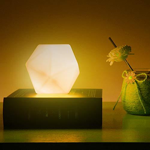 Veilleuse Enfant, CNSUNWAY Veilleuse Toucher de Bébé, lampe de chevet rechargeable USB, 10 colore et 3 Luminosité Réglable Veilleuse LED, pour Chambre à Coucher, Chambre d'enfant, et Salon