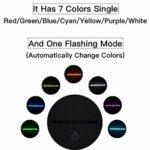 Veilleuse LED 3D – Illusion de chien de berger – Lampe de nuit pour chambre d'enfant – Changement de couleur – Télécommande 7 couleurs