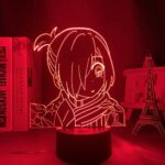 Maoji Lampe de nuit 3D Anime Illusion Lampe Toilette Liée Hanako Kun Yahiro Nene Anime LED pour chambre à coucher Décor veilleuse Enfant Cadeau d'anniversaire Manga Veilleuse Lampe Maoji