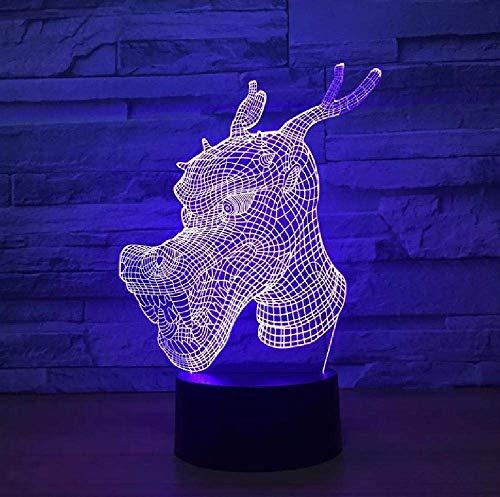 Produits Led Coloré Veilleuse 3D Petit Cadeau De Décorations De Veilleuse Led Pour Lampe D'Enfants De Chambre De Bébé