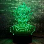 KINGBENG Held Fils Lumière RGB Veilleuse Cadeau Anniversaire Poire Cartoon Lumière Poupée Mobile Enfant Jouet 16 Couleurs Veilleuse Illusion 3D Lumière Visuelle Lumière Art Lumière D