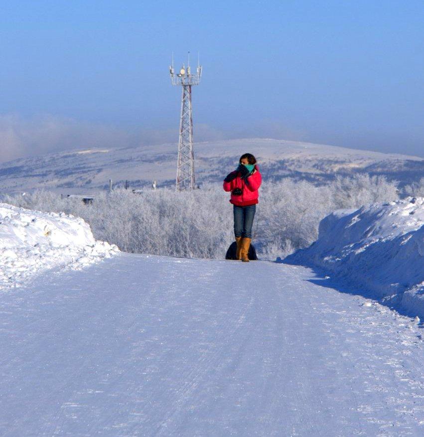 Murmansk freezes over in winter