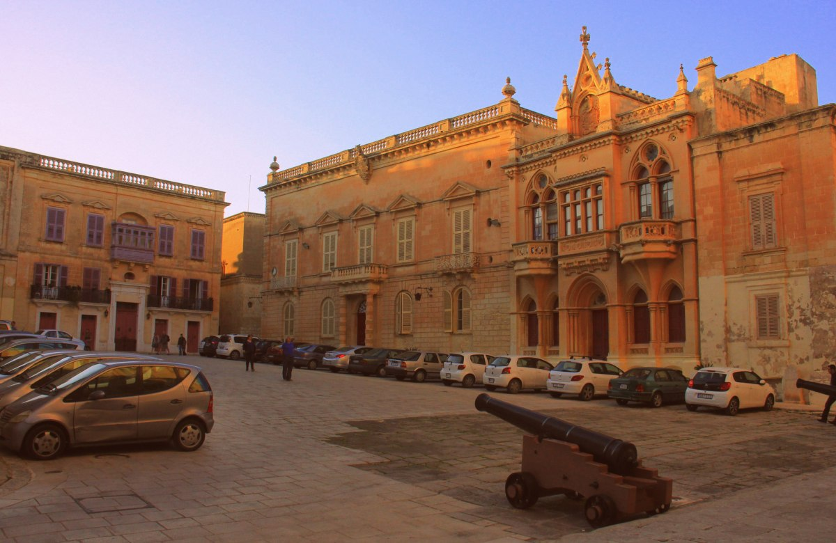 Mdina is a fortified city