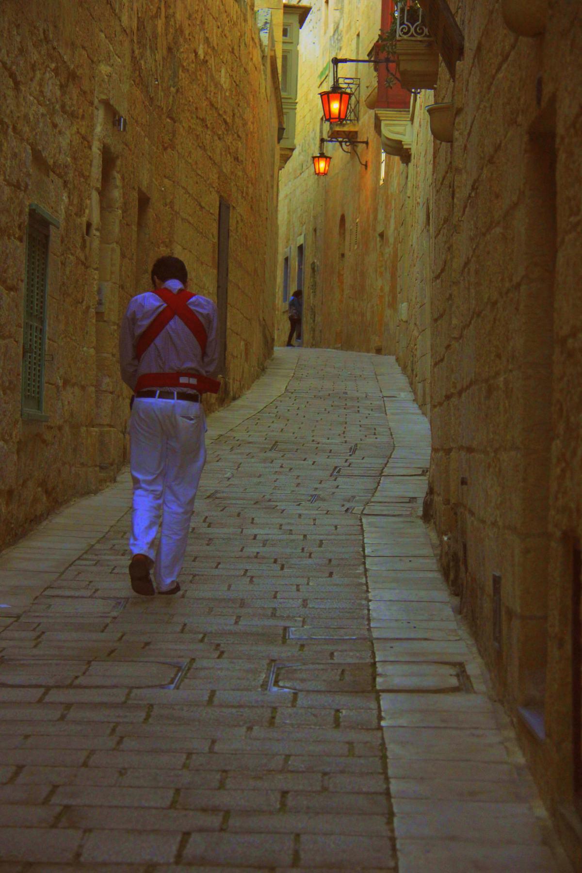 Mdina in Malta has no vehicular traffic of the visitors