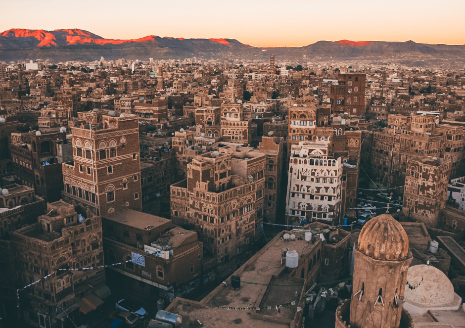 Sanaa is the capital of Yemen