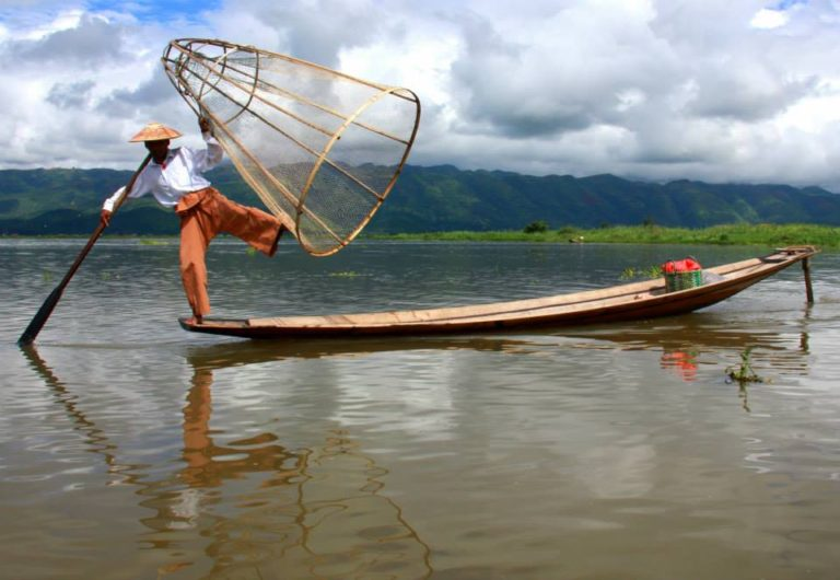 Samkar is in an remote area of lake inle