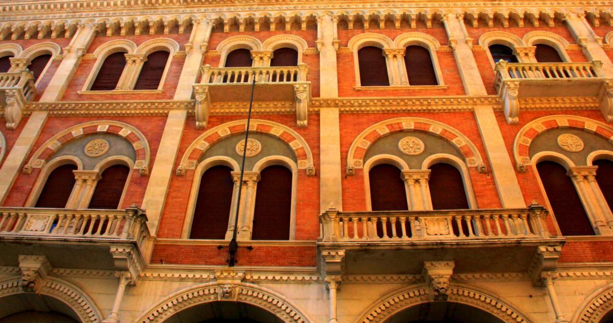 Beautiful old buildings of Padua