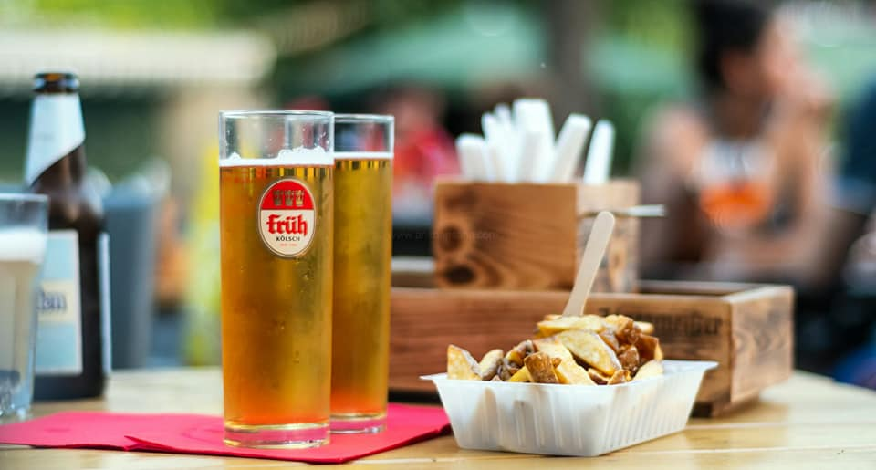 Kolsch is a perfect drink for German summer