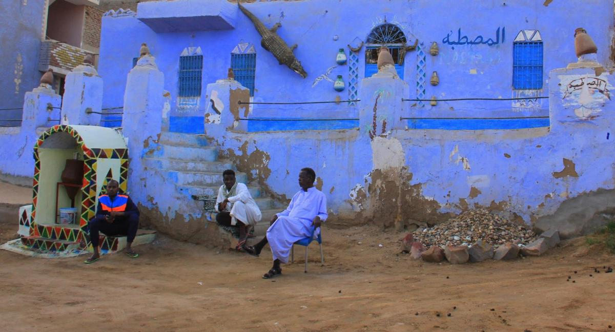 Nubian village visit is recommended by aswan guide