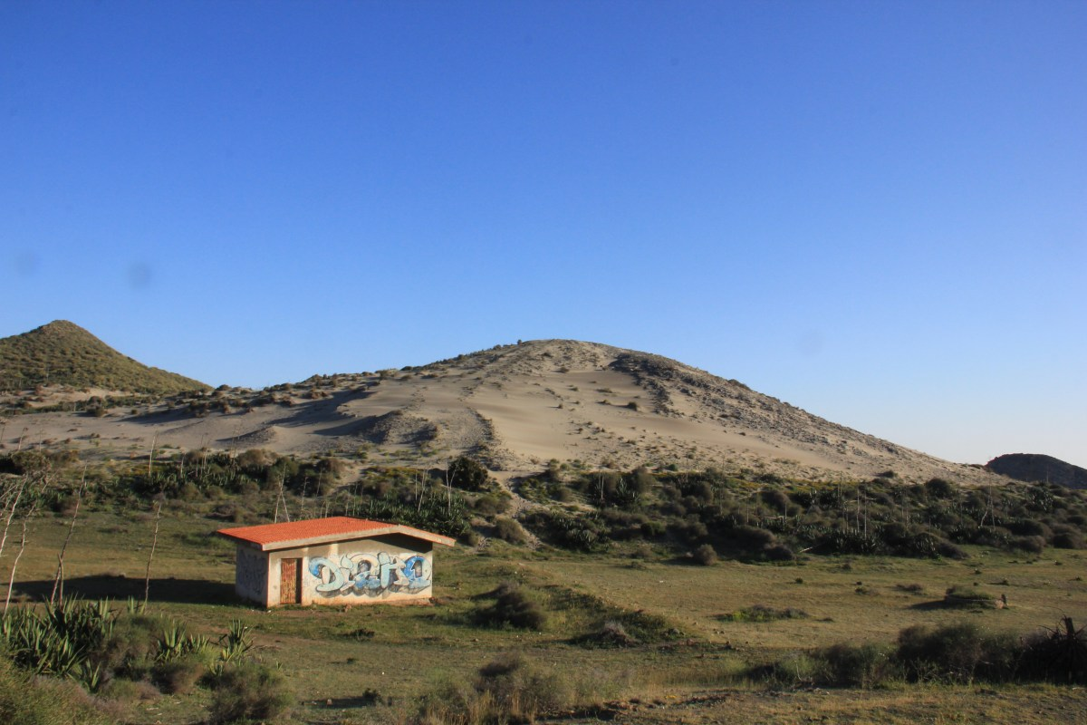 cabo de gata national park has a desert