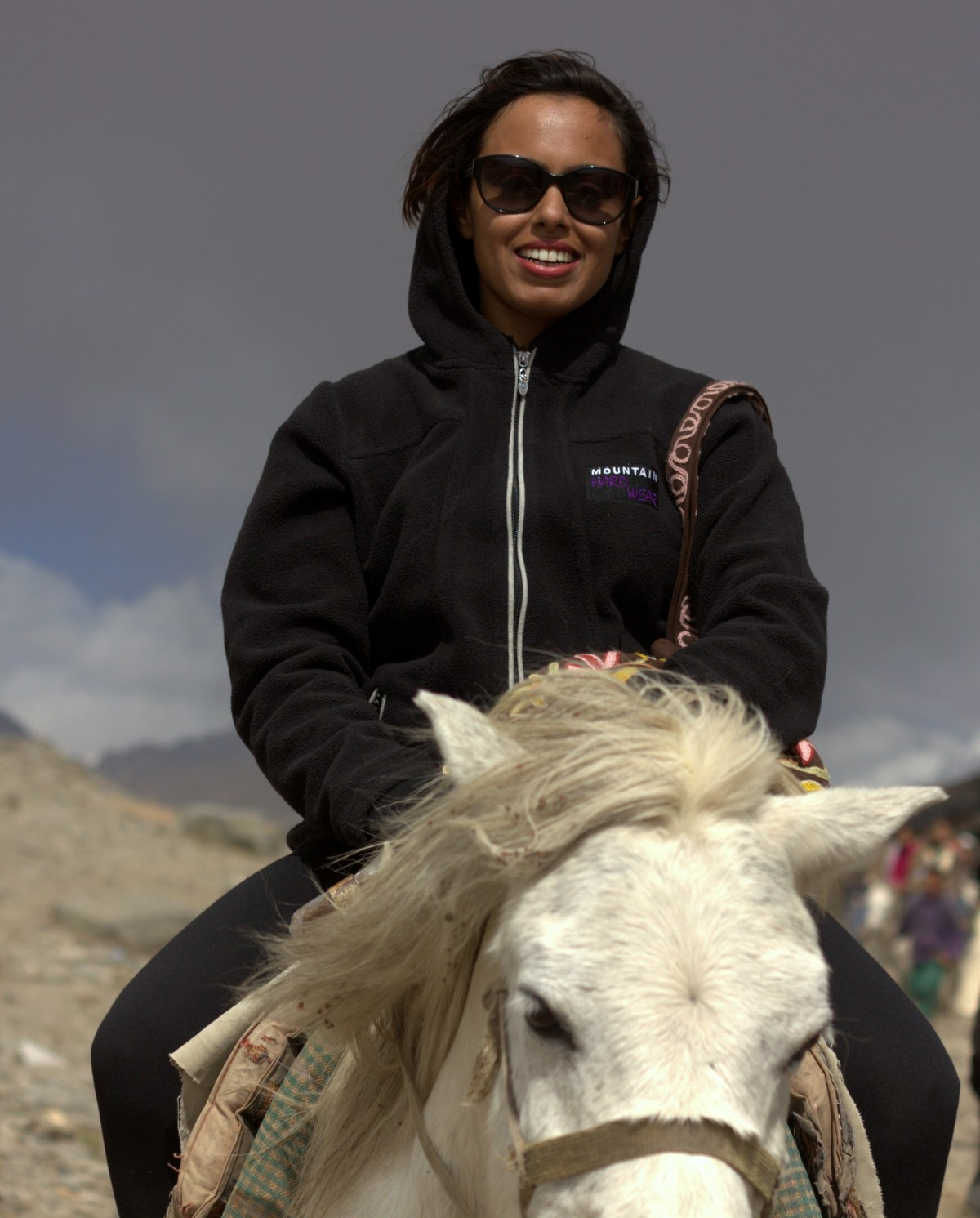 Horse riding in Rohtang near Manali