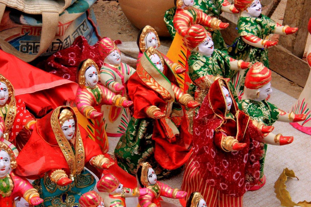 Jaipur has teej dolls for sale