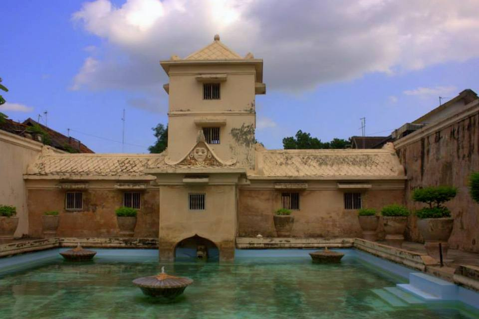 Taman Sari or the water castle of Yogyakarta