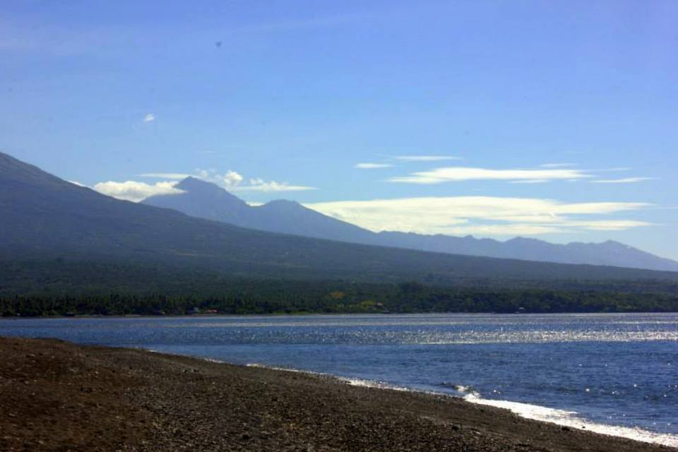Black sandy beaches of Amed