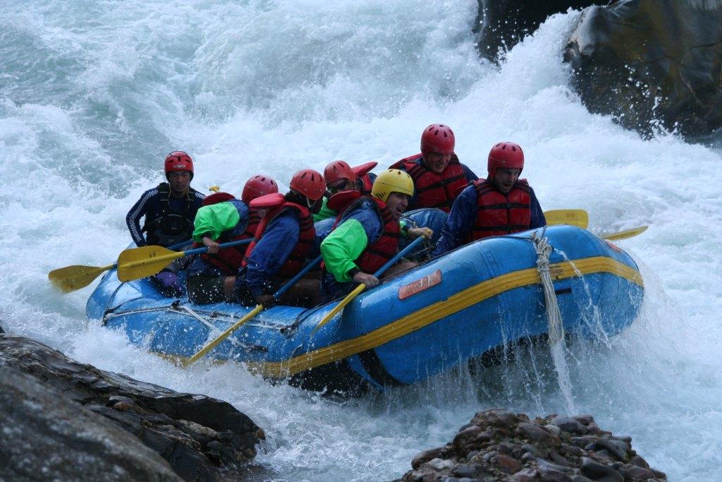 White-water Rafting in nepal