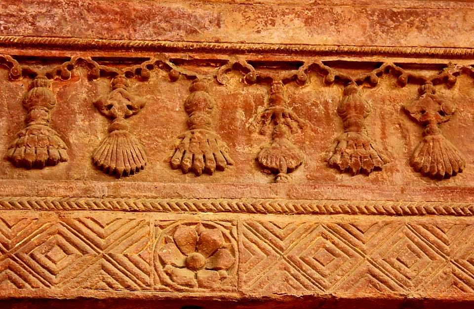 motif detail of fatehpur sikri