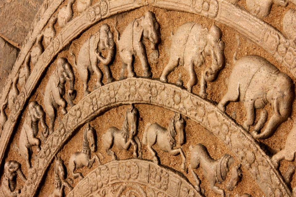 friezes at polonnaruwa