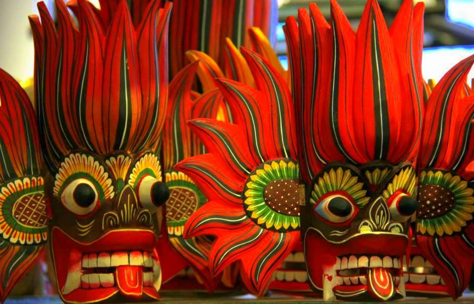 masks of colombo