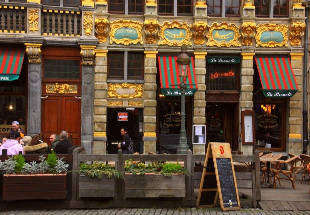 Brussels is a very hip cosmopolitan city