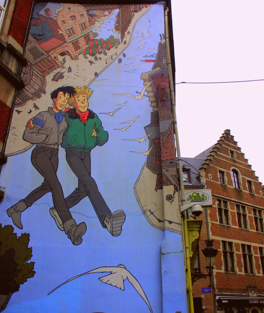 Broussaille is one of the best Brussels street art