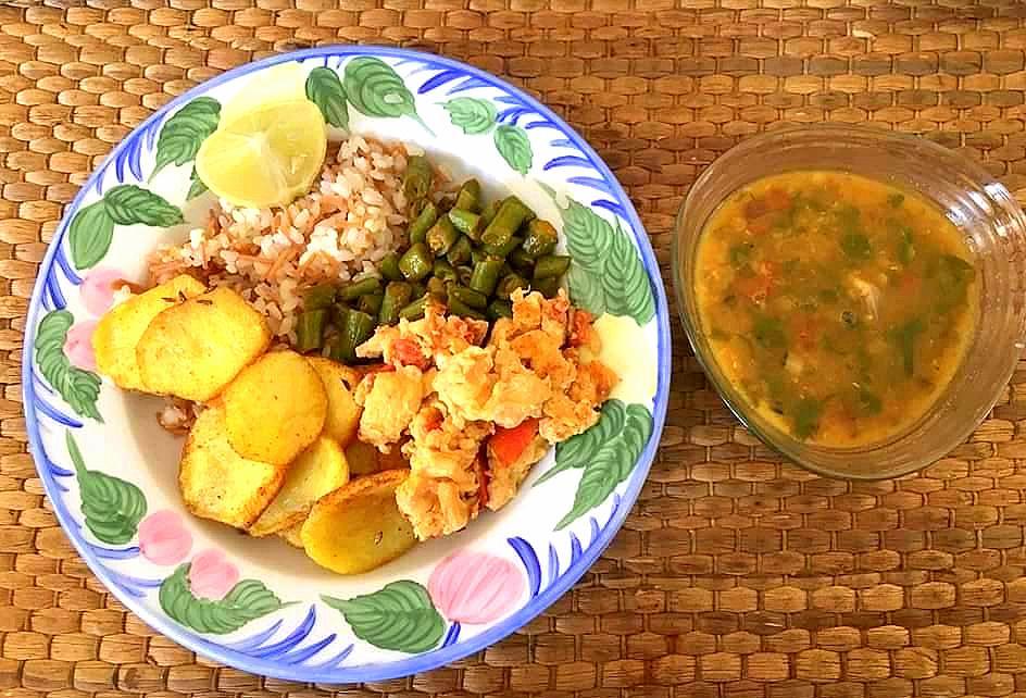 an indian thali food memories