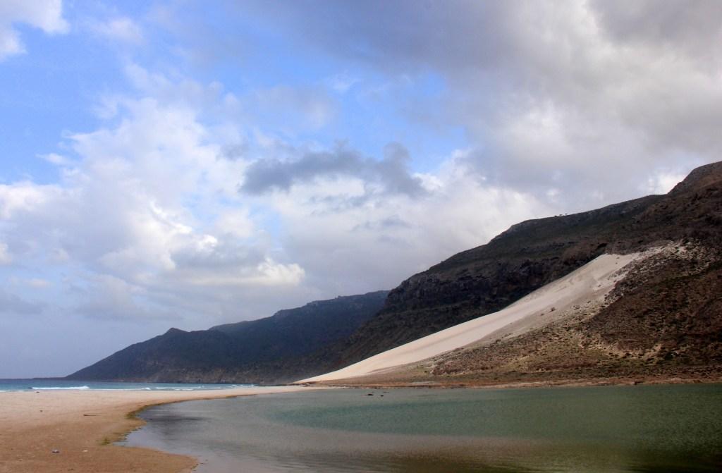 The pristine Delisha beach near Hadibo