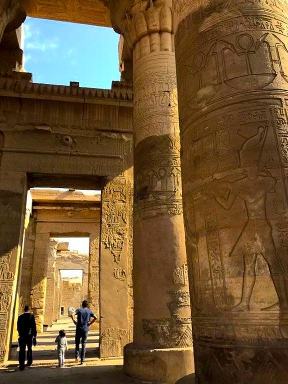Kom Ombo Temple in upper egypt