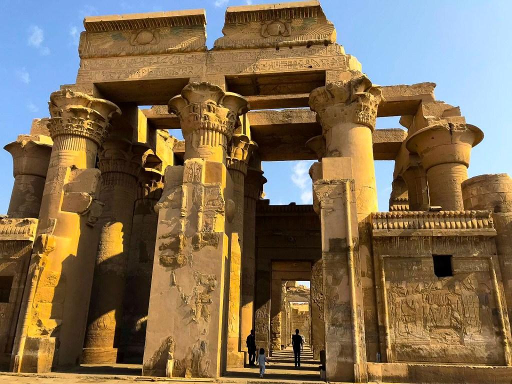 temple of kom ombo in upper egypt