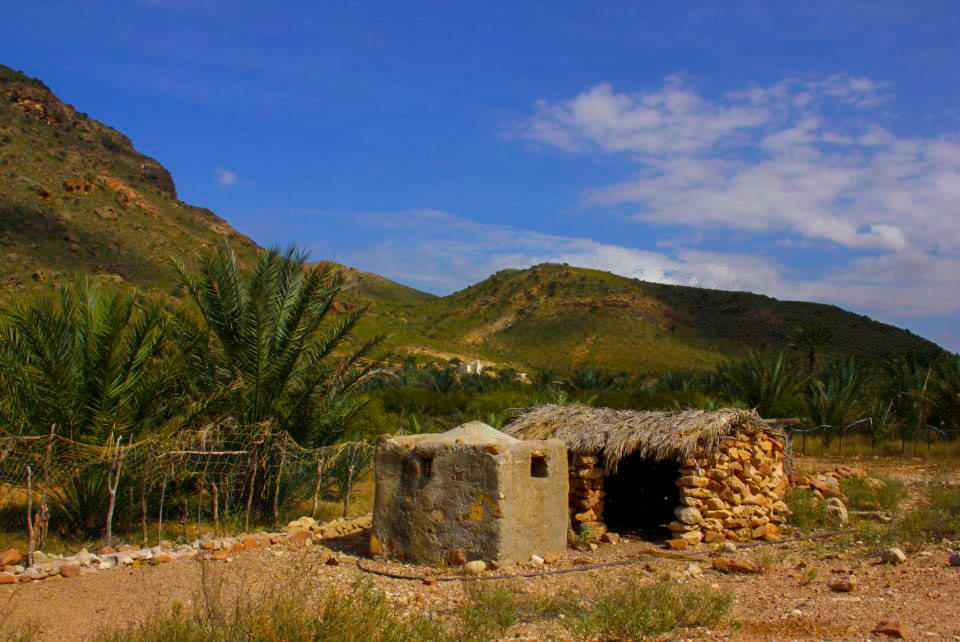 The old stone hut of Socotra Yemen