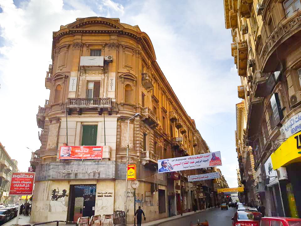 The belle epoque architecture of Alexandria