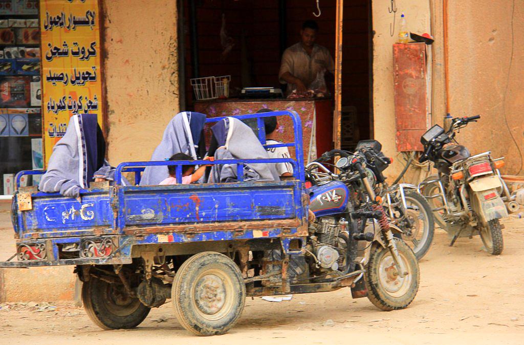 A local pickup truck of Siwa oasis