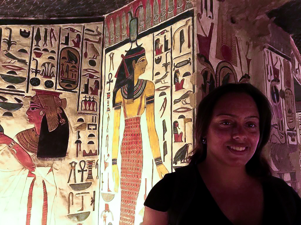 The tomb of Nefertari is one the must visit sites in Luxor
