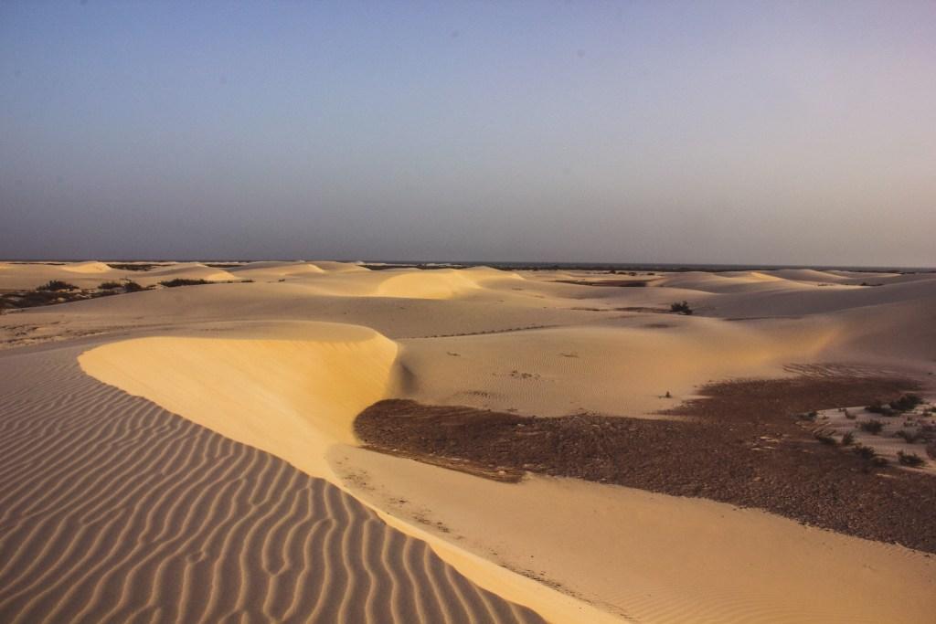 Zahak dunes shift and build up every single day