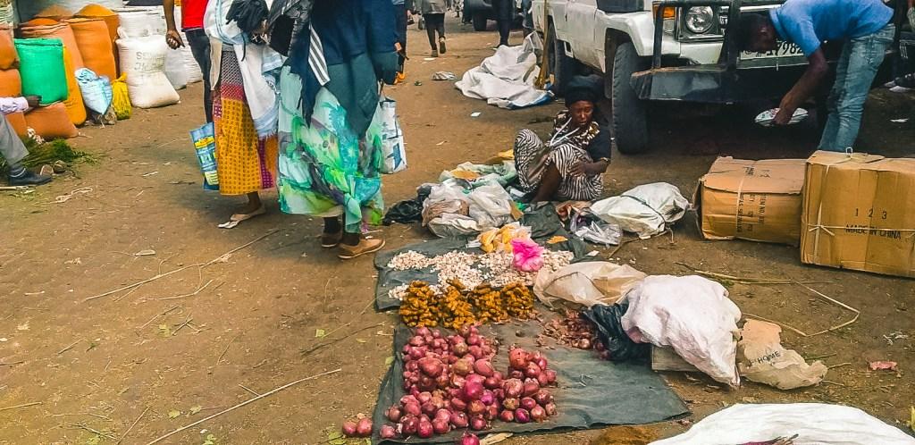 Addis Mercato may resemble a slum
