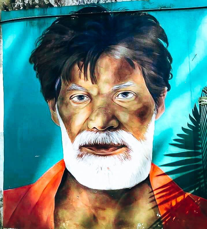 Fort Kochi street art.