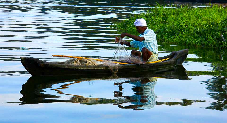 Kollam backwaters sight