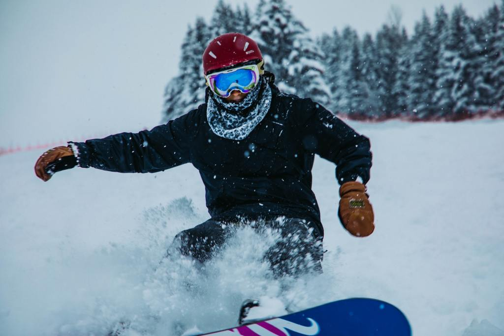 snowboard guarantees adrenaline rush