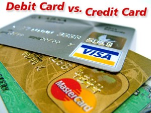 The Difference Between Using Debit and Credit Cards for Online Purchases