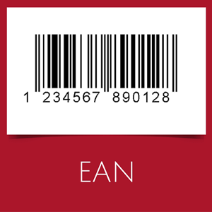 EAN-13 barcodes are used mostly in Europe for retail products