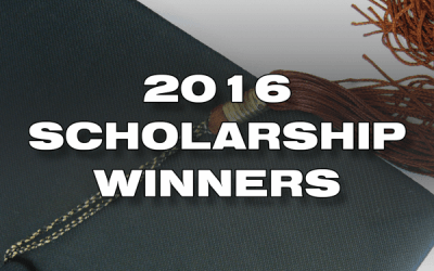 Congratulations to our 2016 College Scholarship Winners!