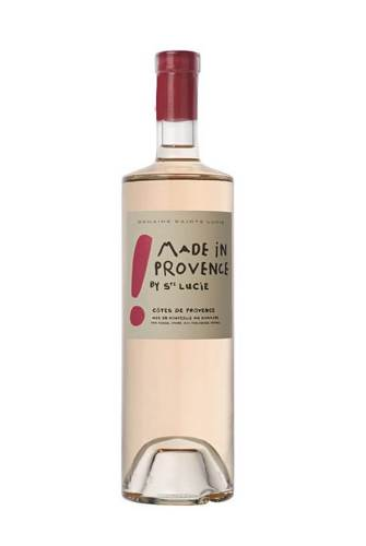 Made in Provence creative wine label