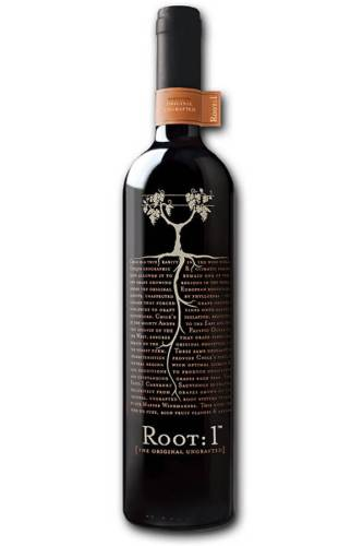 Root: 1 creative wine label design