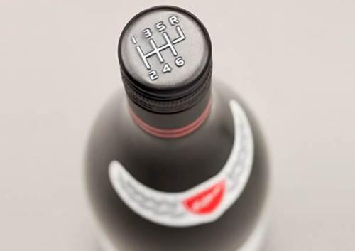 Neil Ashmead GTS creative wine label