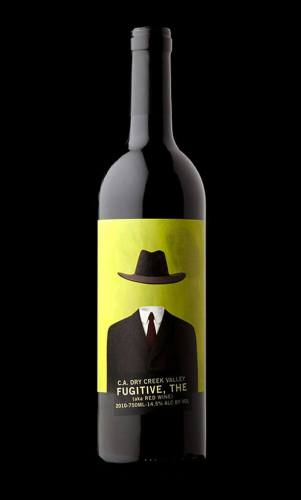 The Fugitive creative wine label