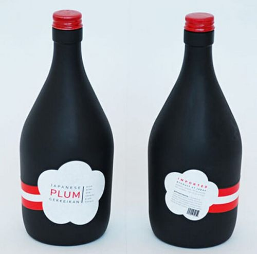 Plum creative wine labels