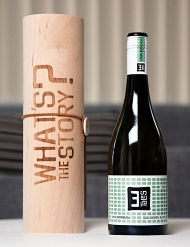 3 Tales creative wine labels