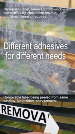 Different adhesives for different needs