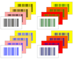 Good barcode color combinations