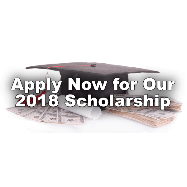 2018 Scholarship Application Due March 1