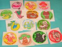 Scratch -n- Sniff stickers